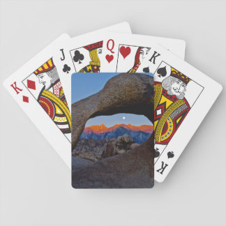 The Scenic Alabama Hills Nestled Playing Cards