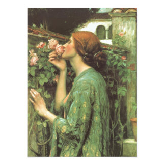 The Scent of Roses 14 Cm X 19 Cm Invitation Card