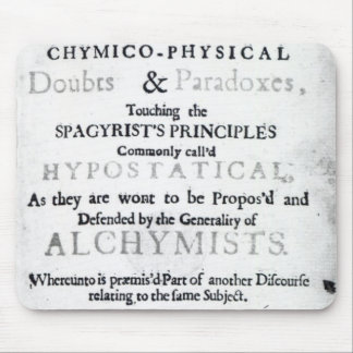 'The Sceptical Chymist' Mouse Mat