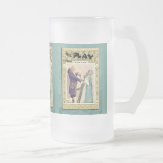 The School for Scandal Frosted Glass Mug