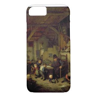 The School Master, c.1662 (oil on panel) iPhone 8/7 Case