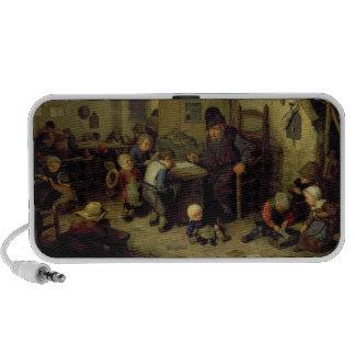 The School Master, c.1662 (oil on panel) iPod Speakers