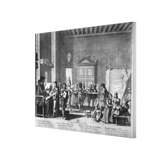 The School Master Canvas Print