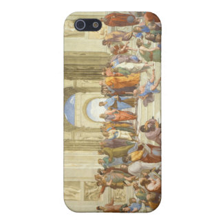 The School of Athens Fresco by Raffaello Sanzio iPhone 5 Covers