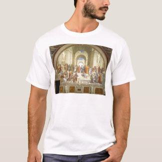 The School of Athens Fresco by Raffaello Sanzio T-Shirt
