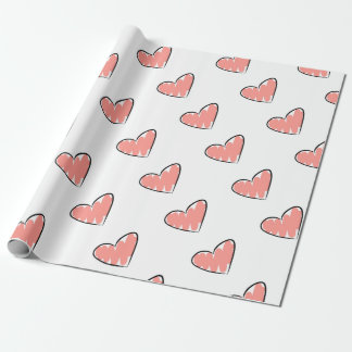 The School of The Livingness Heart Wrapping Paper