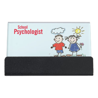 The School Psychologist's Business Card Holder