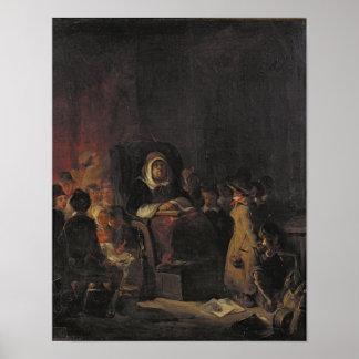 The Schoolmistress Poster