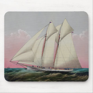 The Schooner Mouse Pad