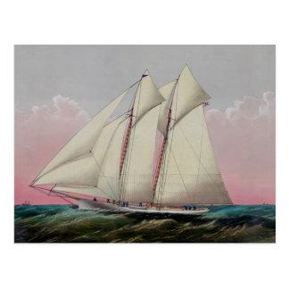 The Schooner Postcard