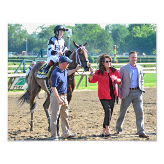 "The Schuylerville Stakes ""Brazen Persausion"" Photograph"