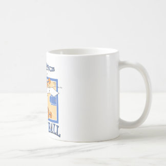 The Science Of Basketball Basic White Mug
