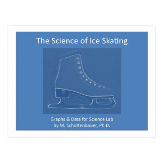 The Science of Ice Skating Postcard