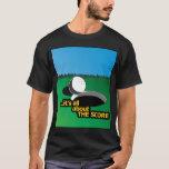THE SCORE Black T-Shirt