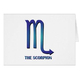 The Scorpion Greeting Card