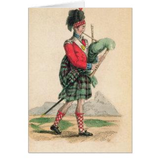 The Scotch Piper Card