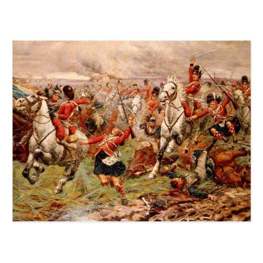 The Scots Greys Postcard