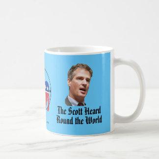 The Scott Heard Round the World Coffee Mug