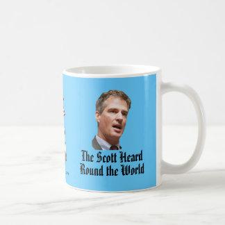 The Scott Heard Round the World Mugs