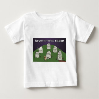 The Scottish Football Graveyard Baby T-Shirt