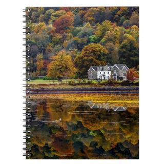 The Scottish Highlands in Argyll Spiral Notebook