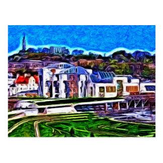 The Scottish Parliament Postcard