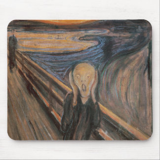 The Scream, 1893 Mouse Pad
