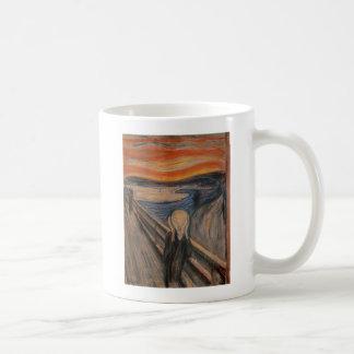 The Scream, 1893 Basic White Mug