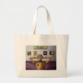 The Scream At The Big Smiles Art Show Bags