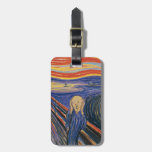 The Scream by Edvard Munch Bag Tag