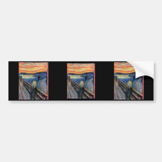 The Scream by Edvard Munch Bumper Sticker