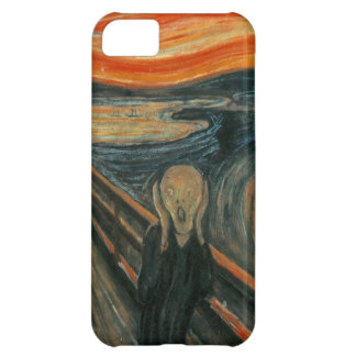 The Scream by Edvard Munch iPhone 5C Cases