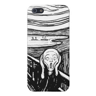 The Scream by Edvard Munch Cover For iPhone 5/5S