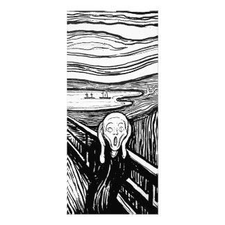 The Scream by Edvard Munch Customised Rack Card