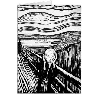 The Scream by Edvard Munch Greeting Card