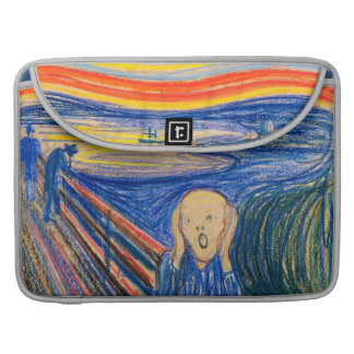The Scream by Edvard Munch (in pastel) Sleeve For MacBooks