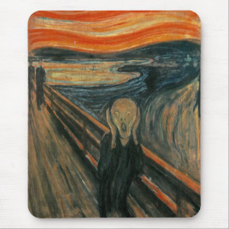 The Scream by Edvard Munch Mouse Mat