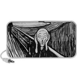 The Scream by Edvard Munch Portable Speakers