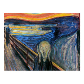 The Scream by Edvard Munch Post Cards