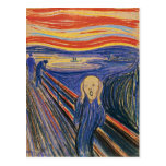 The Scream by Edvard Munch Postcard