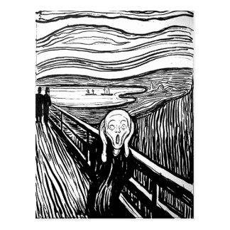The Scream by Edvard Munch Postcard