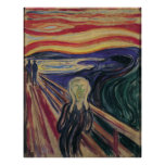 The Scream by Edvard Munch, Vintage Expressionism