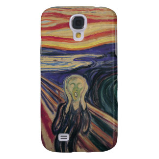 The Scream by Edvard Munch Vintage Expressionism Samsung Galaxy S4 Covers