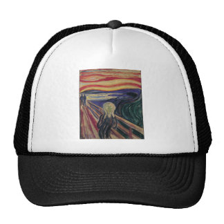The Scream by Edvard Munch, Vintage Expressionism Trucker Hats