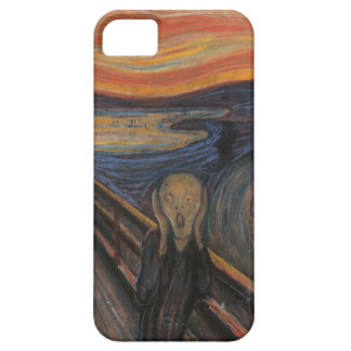 The scream by Munch Case iPhone 5 Cover