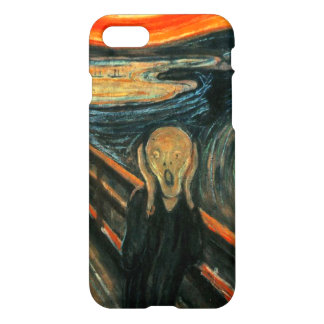 The Scream by Munch iPhone 7 Case