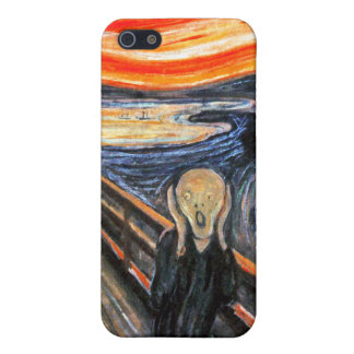 The Scream by Munch: Vintage Painting iPhone 5/5S Cover