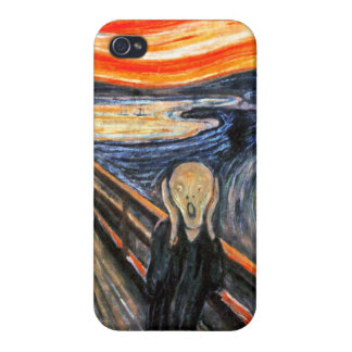 The Scream by Munch: Vintage Painting iPhone 4/4S Case