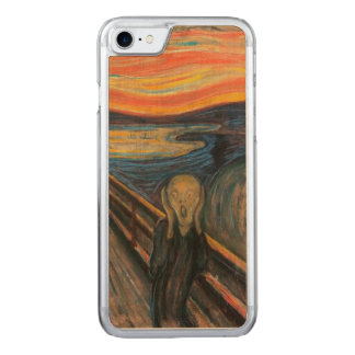 The Scream Carved iPhone 7 Case