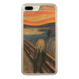 The Scream Carved iPhone 7 Plus Case